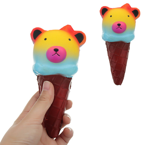 Bear Ice Cream Squishy 16CM Slow Rising Collection Gift Soft Toy