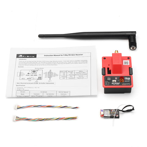 FrSky R9M 900MHz Long Range Transmitter Module With R9 Slim 6/16CH Telemetry Receiver