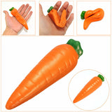 Areedy 14cm Carrot Squishy Simulation Licensed Super Slow Rising Kid Toy Scented Christmas Gift