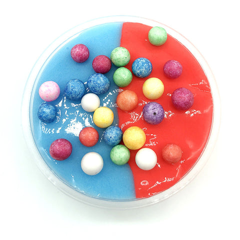 60ML Multicolor Cotton Plasticine Slime Mud DIY Gift Toy Stress Reliever