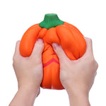 Humongous Squishy Giant Pumpkin 20CM Vegetables Jumbo Toys Gift Collection With Packaging