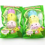 SquishyFun Peas In A Pod Squishy Jumbo 15cm Slow Rising Original Packaging Collection Gift Decor