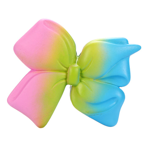 10cm Galaxy Squishy Bowknot Slow Rising Toy Soft Cute Cartoon Gift Collection