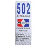 2ml 502 Super Glue Cyanoacrylate Adhesive Strong Sealant Quick-drying Glue for GPS Bracket Fixing