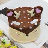 Antler Cake Squishy Toy 11.5*12.5 CM Slow Rising With Packaging Collection Gift