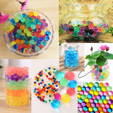 7000PCS Magic CS Water Beads Gel Balls Plant Flower Crystal Soil Mud Jelly Pearls Decor Toy