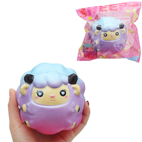 Areedy Squishy Sheep 10cm Licensed Soft Slow Rising Original Packaging Collection Gift Decor Toy
