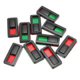 EV-PEAK 10pcs Battery Power Display Indicator Battery Charge Marker