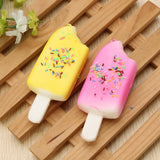 11cm Ice Lolly Popsicle Squishy Charm PU Phone Strap Decor Random Color Gift