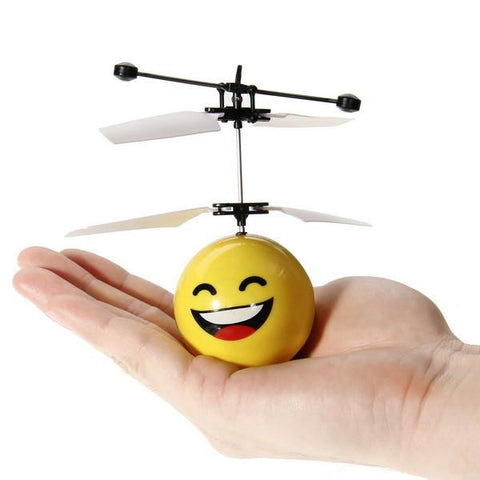 Hand Induction Flying Facial Expression Toys for Kid