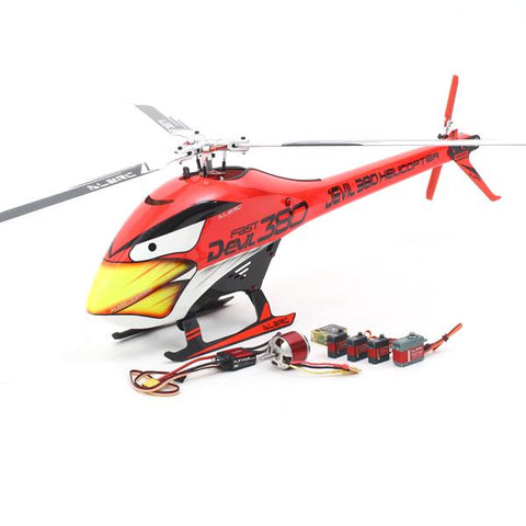 ALZRC Devil 380 FAST Three Blade Rotor TBR Helicopter Super Combo