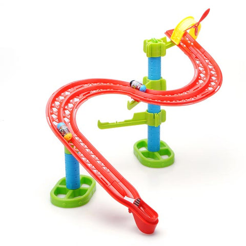 Jumping Beans S Shape Rail DIY Building Blocks Educational Toy