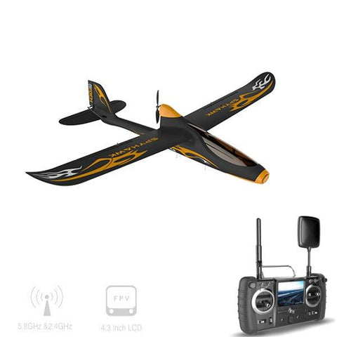 Hubsan H301S HAWK 5.8G FPV 4CH RC Airplane RTF With GPS Module