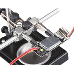 Universal Soldering Holder Stand For Welding With Magnifier