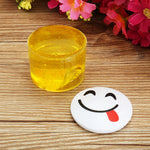 Emoji Face Slime Cup Bottle Crystal Mud Random Emoji Kids Adults Gift Stress Reliever Decompress Toy