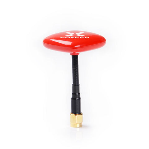 160mm Foxeer 5.8GHz 8DBi Echo Patch RHCP FPV Antenna Feeder FPV Goggles Red/Black-Cable Version