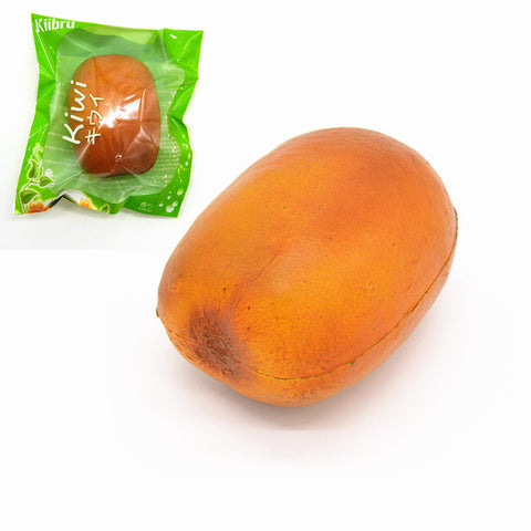 Kiibru Squishy Kiwi Fruit 8.5cm Soft Licensed Slow Rising Original Packaging Collection Gift Decor Toy
