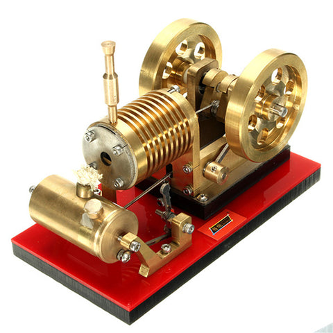 SH-02 Hot Air Stirling Engine Model Tractor Educational Discovery Toy Kits