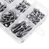 200Pcs M3 304 Stainless Steel DIN912 Screw Hex Socket Cap Screw Bolt for RC Model