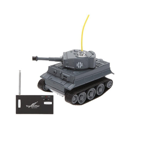 Happy Cow 777-215 4CH 68*41*40mm Mini Radio RC Car Army Battle Infrared Tank With Light Toy