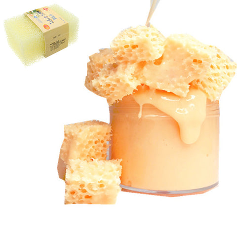 2Pcs Honeycomb Sponge Mud DIY Slime filler 11.7* 7.5* 3cm Pottery Clay Tool