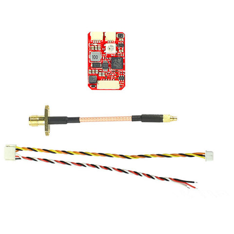 FuriousFPV Stealth Long Range 700mW 40CH FPV VTX Transmitter Built-in Microphone for RC Drone
