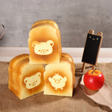 Bread Squishy Giant Bear Toast 13CM Scented Soft Toys Gift Collection With Packaging