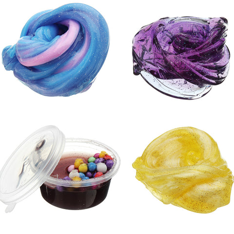 60ML Multicolor Mixed Cotton Plasticine Slime Mud DIY Gift Toy Stress Reliever