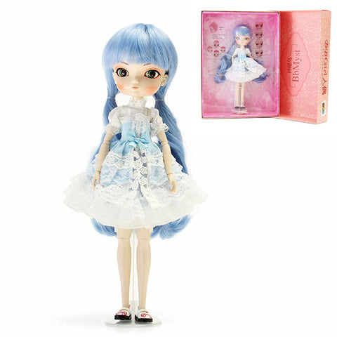 BBGirl LanXin BJD Doll 35cm Ball Joint Doll Collection Gift Toy Face Eyes Changeable Customized