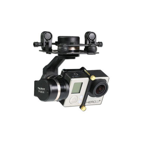Tarot GOPRO 3DⅢ Metal CNC 3 Axis Brushless Gimbal PTZ for GOPRO 4 3+ 3 FPV RC Drone TL3T01