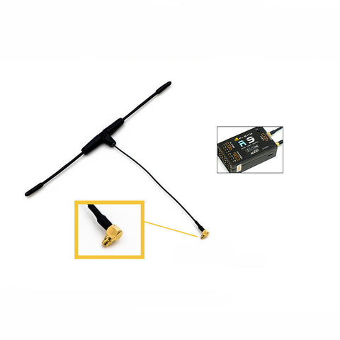 Original FrSky 900MHz Dipole T MMCX Antenna for R9 Receiver FCC Version