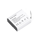 3.85V 1200mah Li-ion Battery+5V Voltage Dual Battery Charger for Hawkeye Firefly 8s Action Camera