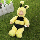 25cm Cute Bee Clothes Newborn Sleeping Soft Vinyl Reborn Baby Doll Gift Toy