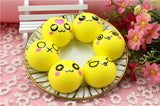 6Pcs Simulation Bread Squishy Slow Rising Toy 8 Seconds 4cm Corn Bread Funny Toy