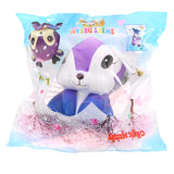 Galaxy Deer Doll Squishy 14.3*11.3*9.7cm Slow Rising With Packaging Collection Gift Soft Toy