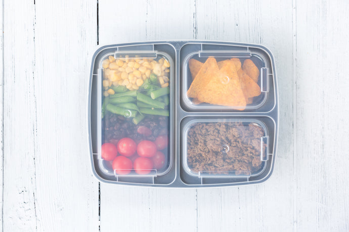 3 Compartment MVP Containers  [10 PACK]