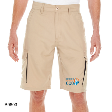 Burnside Men's Microfiber Cargo Short