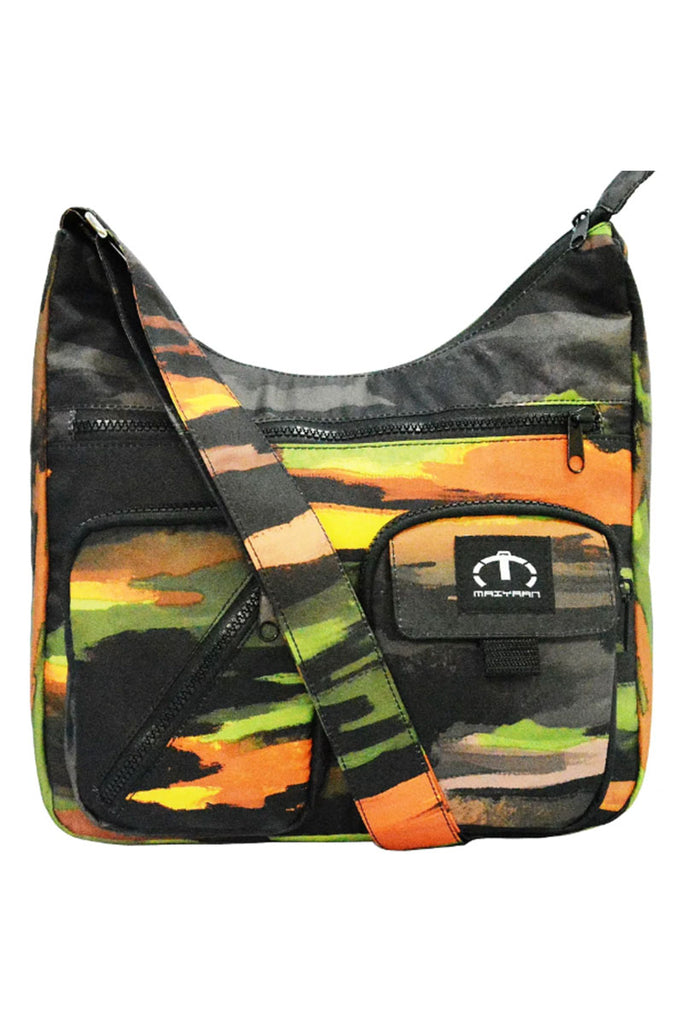 CAMO TREE SHOULDER BAG