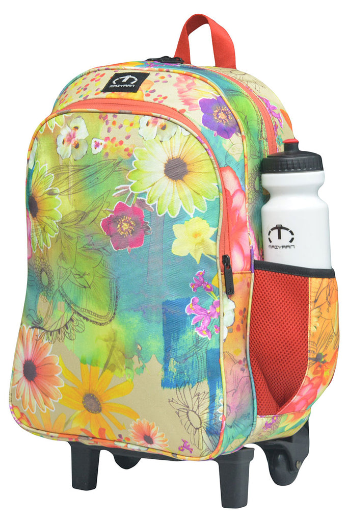 FLOWERS TROLLEY BACKPACK
