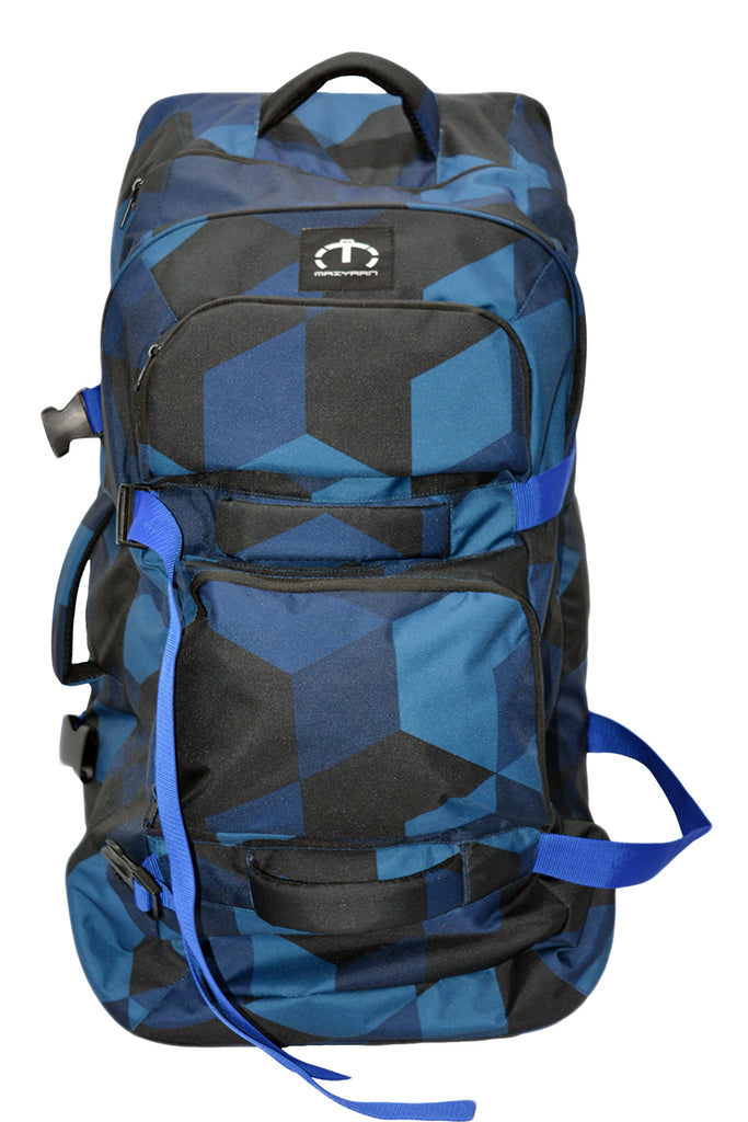 BLUE TRAVELLING TEAM BAG
