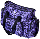 PURPLE CHEETA SHOULDER BAG