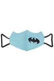 1 PCS OF DOUBLE LAYER BATMAN FACE MASK FOR KID'S