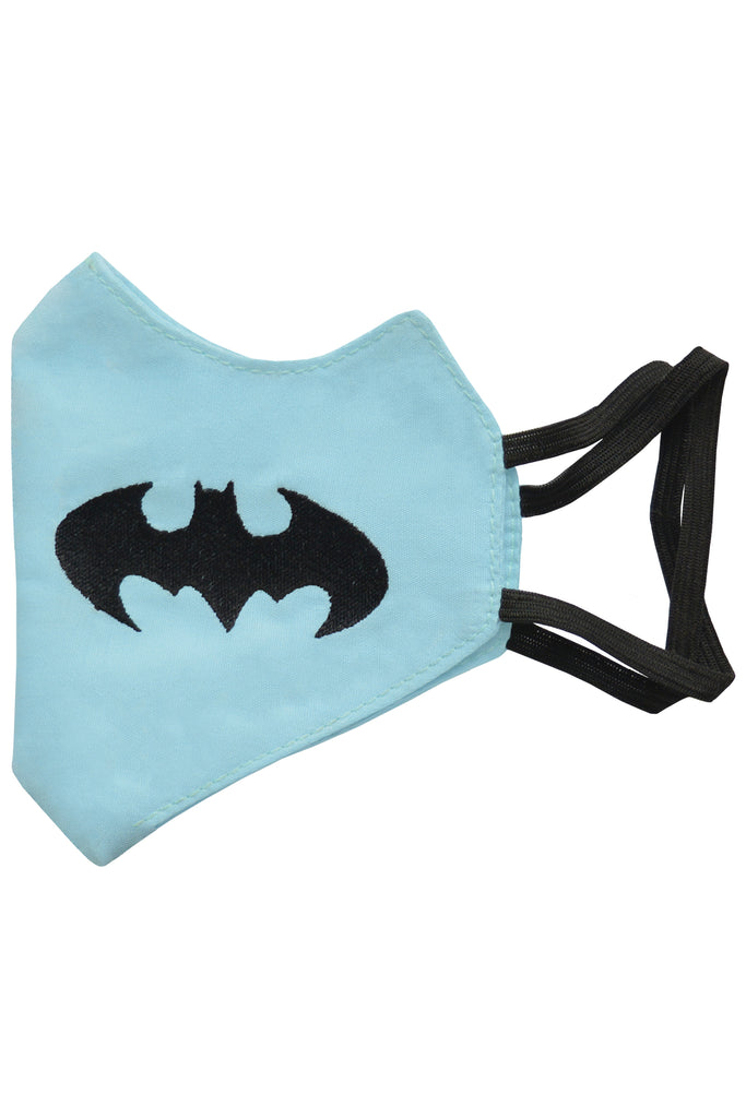 3 PCS OF DOUBLE LAYER BATMAN FACE MASK FOR KID'S