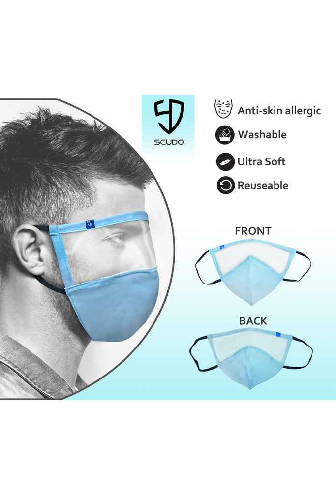 1 PCS OF COMPLETE PROTECTION FACE MASK