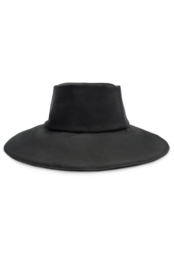 FACE PROTECTIVE REMOVABLE HAT BLACK