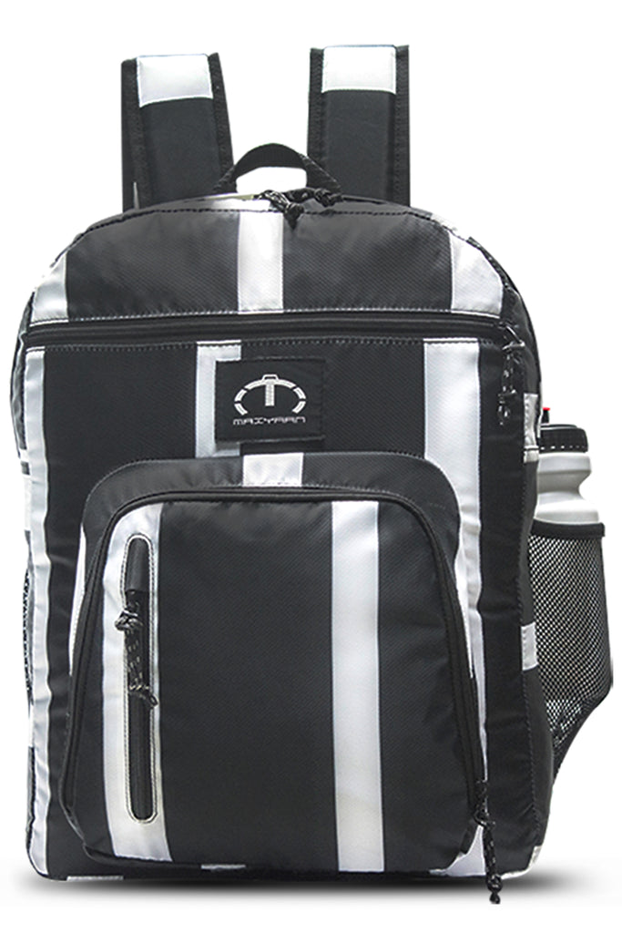 BLACK & WHITE BACKPACK