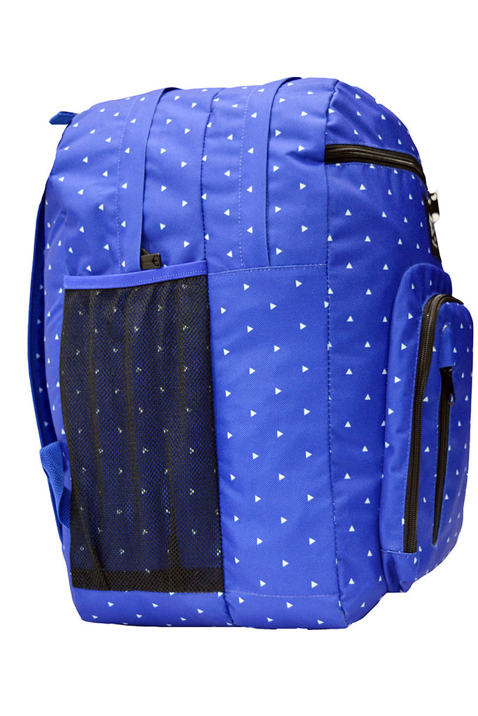 BLUE DOTS BACKPACK