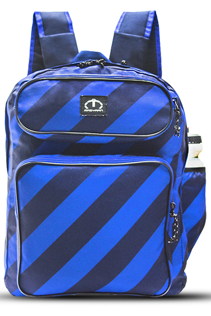 BLUE CROSS LINES BACKPACK