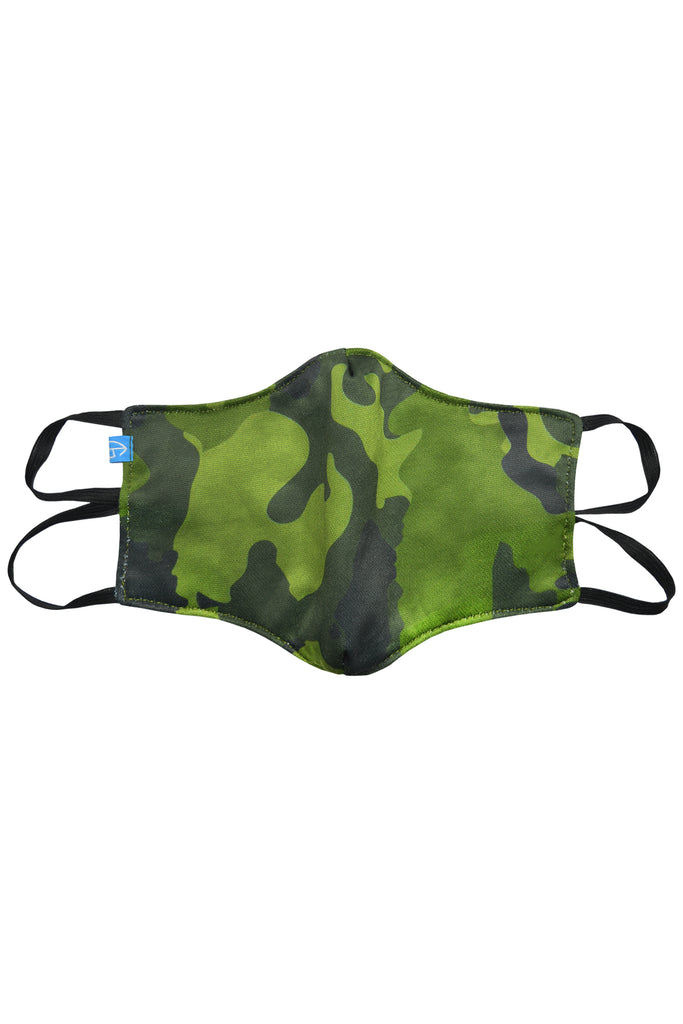 1 PCS OF DOUBLE LAYER CAMO FACE MASK