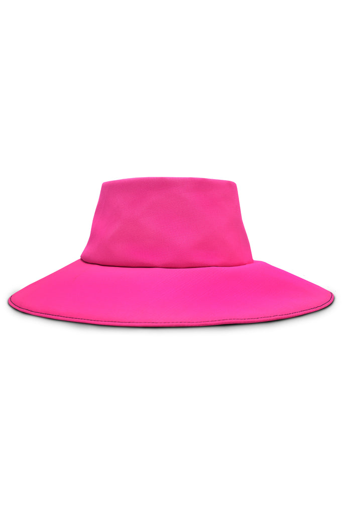 FACE PROTECTIVE REMOVABLE HAT PINK